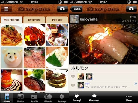 Snapdish localization images