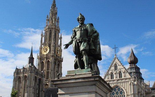 Antwerp statue