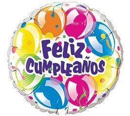 Happy Birthday Foreign Language Balloons