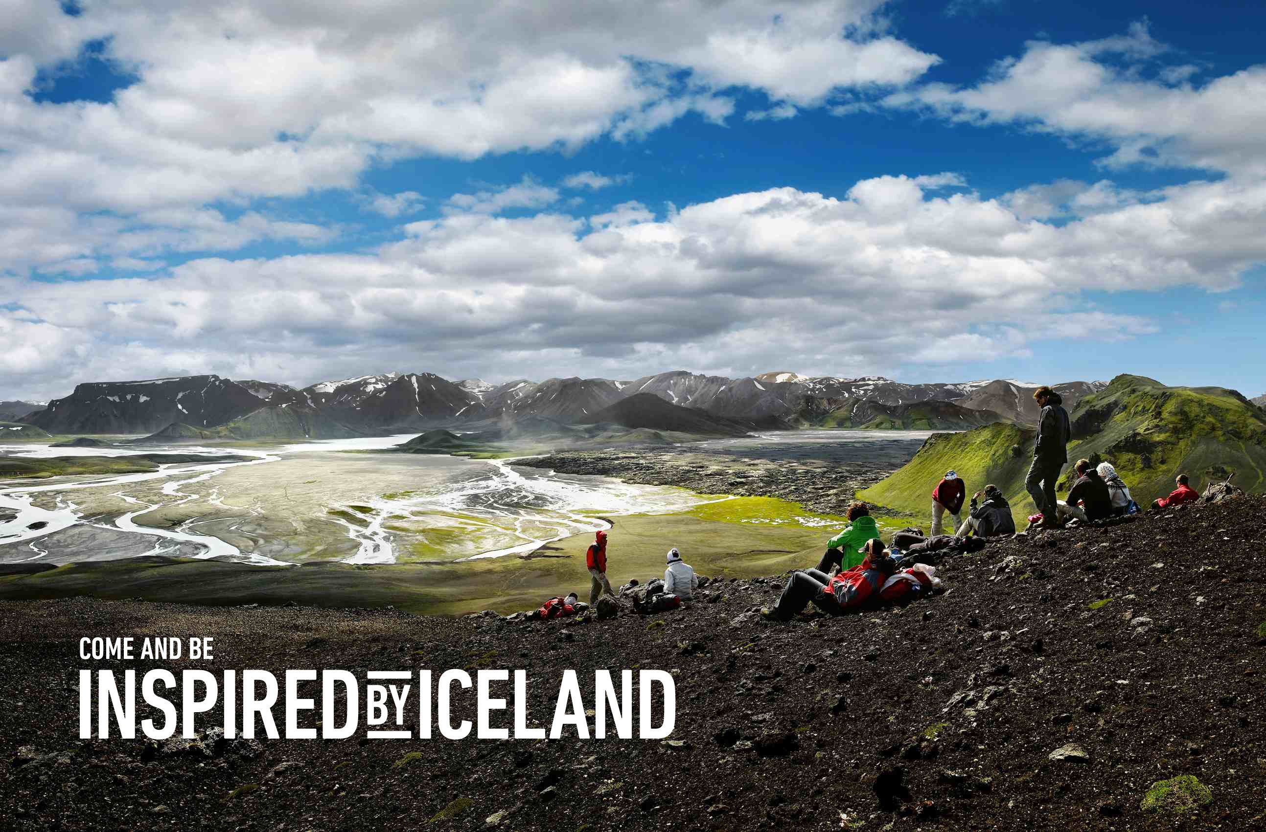 Iceland tourism poster