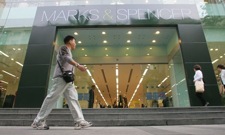 Marks& Spencer store in Shanghai