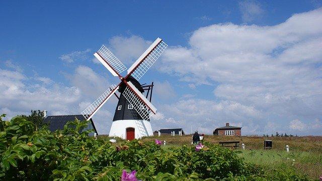 denmark-windmill-landscape
