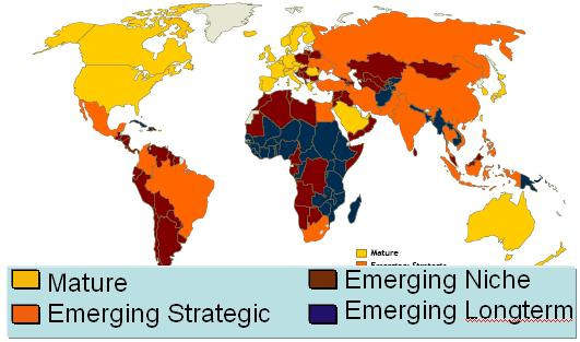 emerging markets of the world