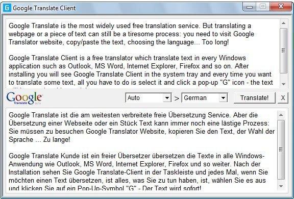 Translation Software