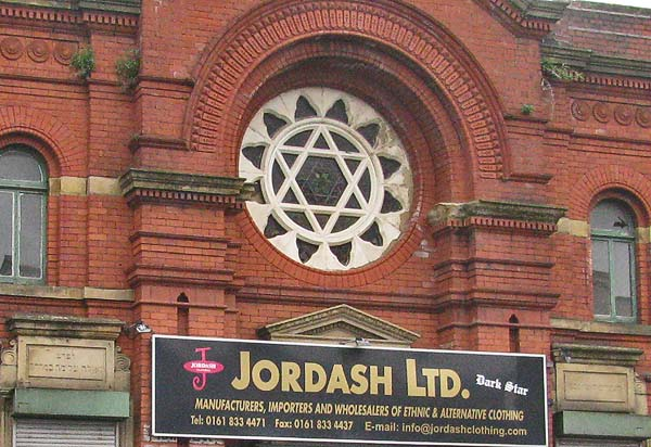 Synagogue in Cheetham Hill Manchester