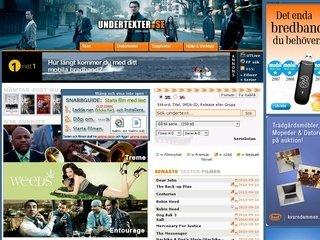 undertexter.se screen shot