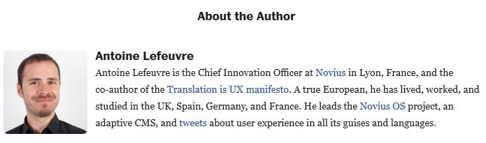 website translation UX